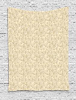 Interlacing Clams Motif Tapestry
