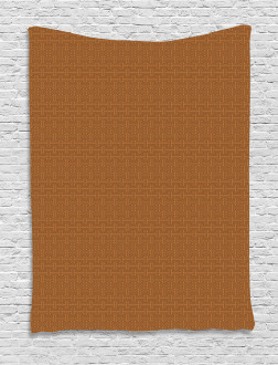 Tribal Indonesian Grid Tapestry