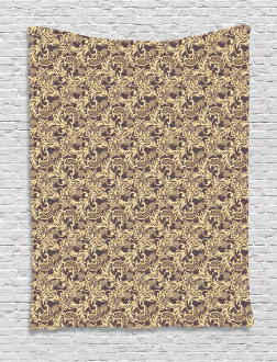 Arabic Traditional Floral Tapestry