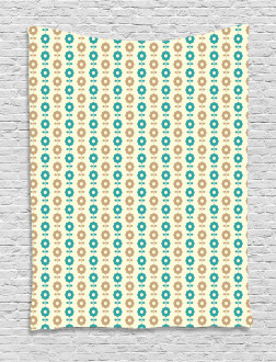 Simple Daisies Tapestry