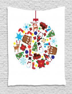 Traditional Noel Joy Tapestry