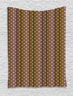 Peacock Motif Tapestry