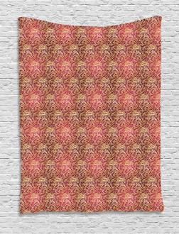 Swirly Oriental Tapestry