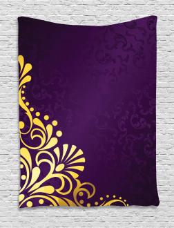 Curvy Ornament Tapestry