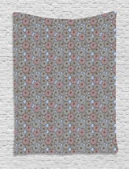Botanical Garden Design Tapestry