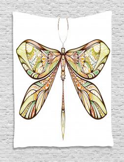 Colorful Bug Design Tapestry