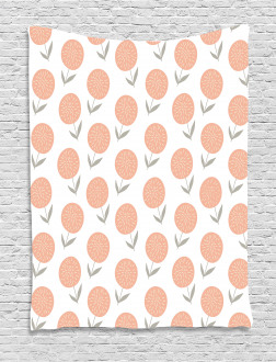Pastel Floral Spring Tapestry