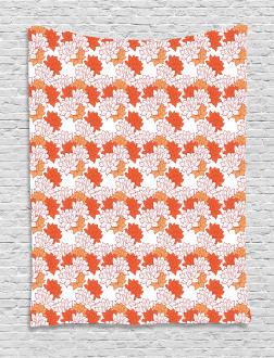 Lily Zen Garden Tapestry