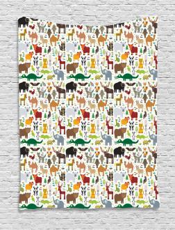 Leopard Bison Camel Tapestry