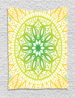 Sketch Flower Bloom Tapestry