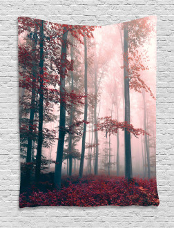 Autumn Fall Nature Woods Tapestry