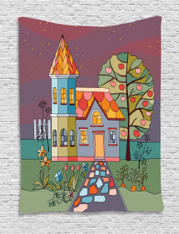Country House with a Garden Tapestry