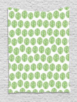 Green Spring Leaf Tapestry
