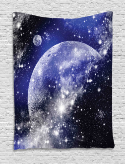 Nebula Galaxy Scenery Tapestry