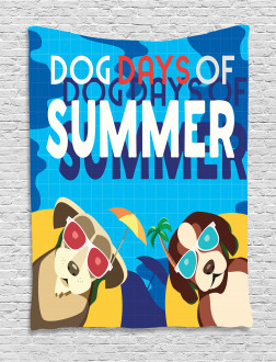 Dogs Days of Summer Tapestry