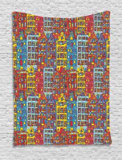 Sketch Amsterdam Tapestry