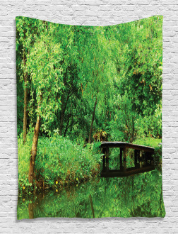Foliage Forest Woodsy Tapestry
