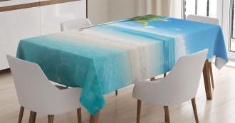Idyllic Scenery Sunbeam Tablecloth