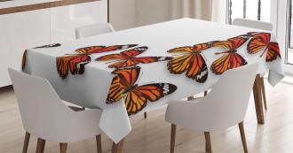 Spring Monarch Bug Tablecloth
