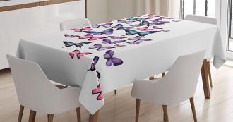 Cute Wings Feminine Tablecloth