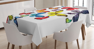 Joy Wildflowers Hiking Tablecloth