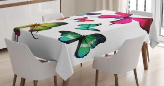 Summer Tropic Jungle Tablecloth
