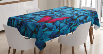 Large Bugs Lepidoptera Tablecloth
