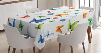Butterflies Animal Tablecloth