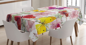 Love Letters Romantic Tablecloth