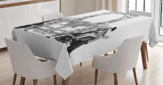 Ancient Roman Design Tablecloth