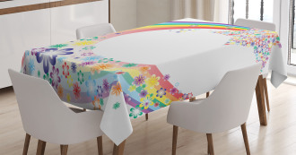 Nature Spring Floral Tablecloth
