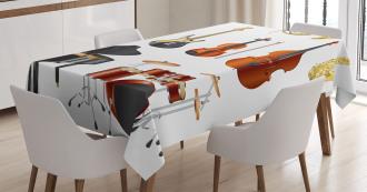 Symphony Orchestra Concert Tablecloth