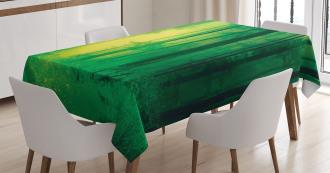 Fairy Springtime Forest Tablecloth