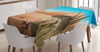 Desert Tropical Nature Tablecloth