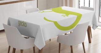 Australian Lizard Tablecloth