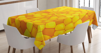 Abstract Corn Pattern Tablecloth