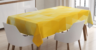 Geometric Triangle Tablecloth
