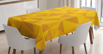 Abstract Mosaic Design Tablecloth
