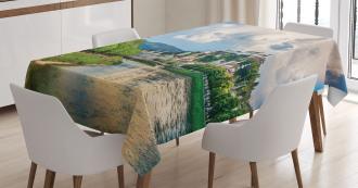 Salzburg Land Cloudy Tablecloth