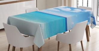 Hawaiian Seascape Tablecloth