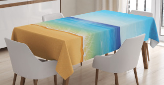 Exotic Hot Sunny Nature Tablecloth