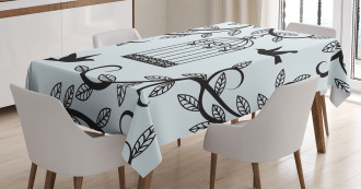 Branch of Floral Tree Tablecloth