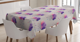 Geometric Mosaic Dots Tablecloth