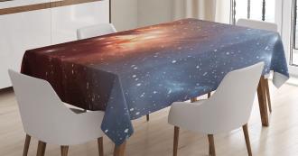 Astronomy Cosmos Space Tablecloth