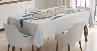 Ethnic Native American Tablecloth
