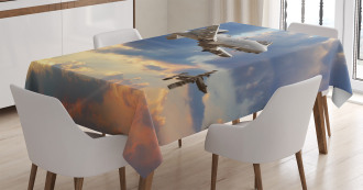 Aviataion Theme Design Tablecloth