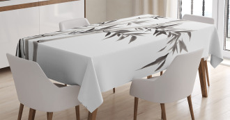 Traditional Bamboo Leaves Tablecloth