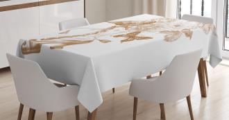 Nostalgic Butterflies Tablecloth