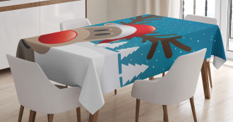Noel Fun Nursery Cartoon Tablecloth