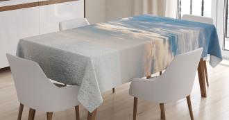 Sailing Yacht Sunset Tablecloth